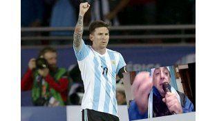 El VIDEO con la canción del Sapo Pepe que critica a Messi