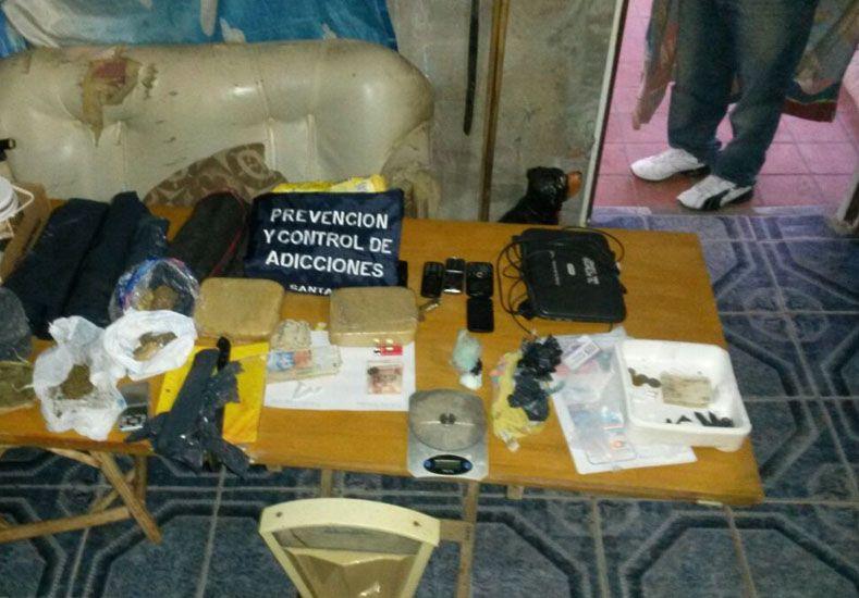 Secuestraron una importante cantidad de droga en un operativo en Rincón