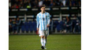 ¿Messi se toma un descanso de la Selección?
