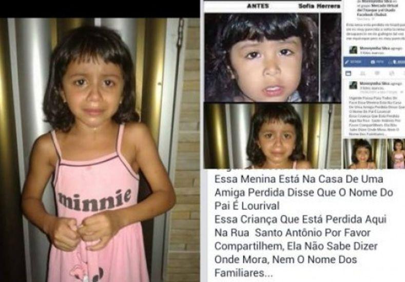 """""""Esta fotito que anda circulando en el Facebook no es mi hija Sofía Herrera"""""""