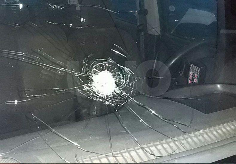 Hirieron a una mujer policía en el barrio Las Vegas de la ciudad de Santo Tomé