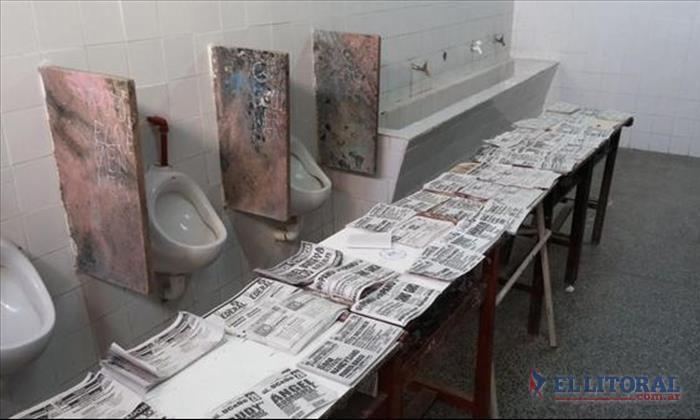 Votar en el baño