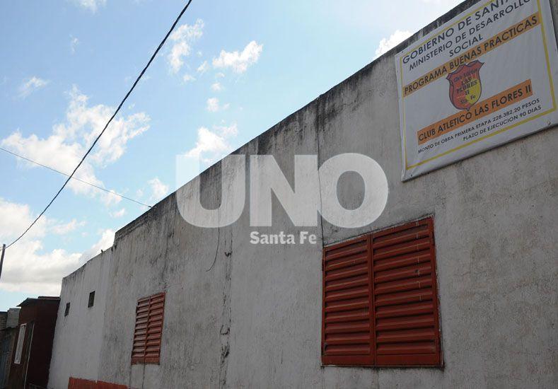 Club Atlético Las Flores II, con el corazón naranja