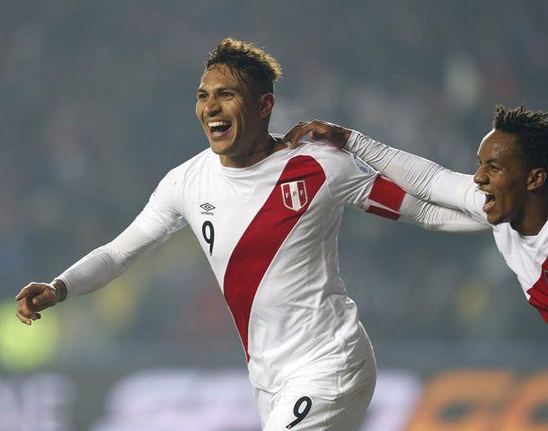 Paolo Guerrero ratificó su capacidad goleadora y llevó a Perú al tercer puesto.