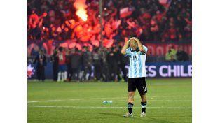 Sin consuelo: Argentina perdió la final con Chile y se quedó sin Copa América