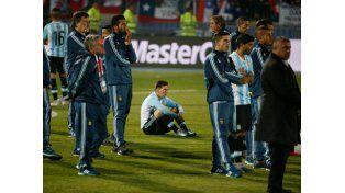 La Selección Argentina llegó de madrugada al país