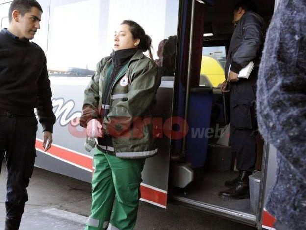 Llegaron a la terminal de Santiago y se dieron cuenta de que un pasajero había muerto