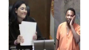 Reconoció a la jueza y se puso a llorar