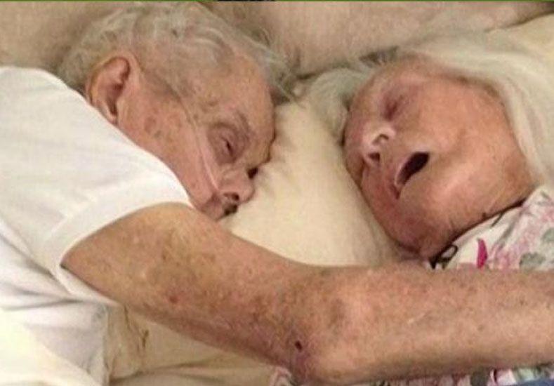 Estuvieron casados 75 años y murieron casi el mismo día
