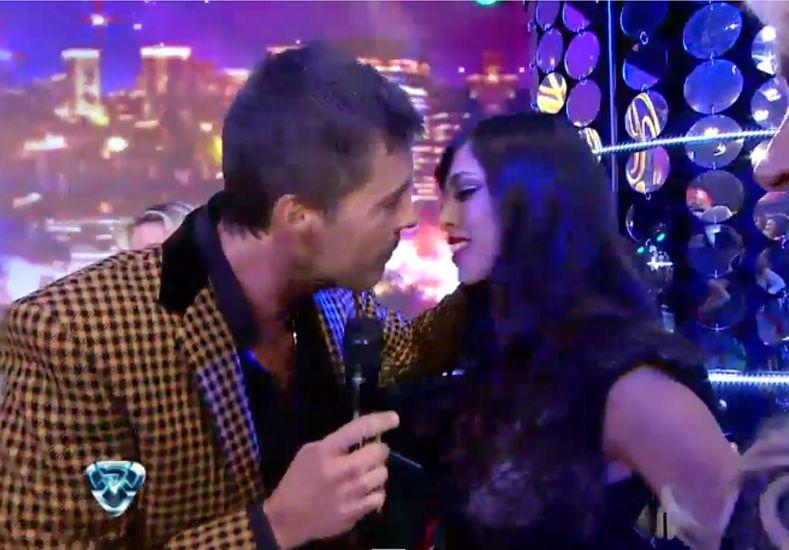 El día que una integrante de Gran Hermano besó a Marcelo Tinelli