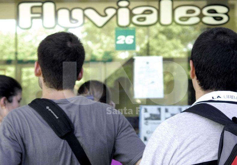 Fluviales propuso incorporar un servicio exprés para universitarios