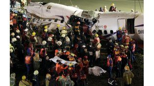 Un insólito error de los pilotos causó la tragedia aérea en Taiwán