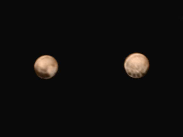 Nuevas imágenes en color de Plutón