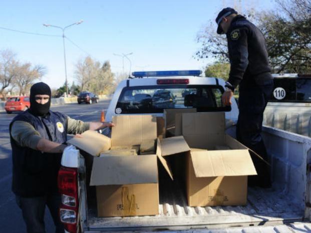 El cargamento estaba escondido dentro del habitáculo de una camioneta. (Foto: H. Río)