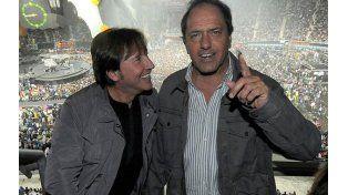 El cantante Ricardo Montaner compuso un jingle para Daniel Scioli