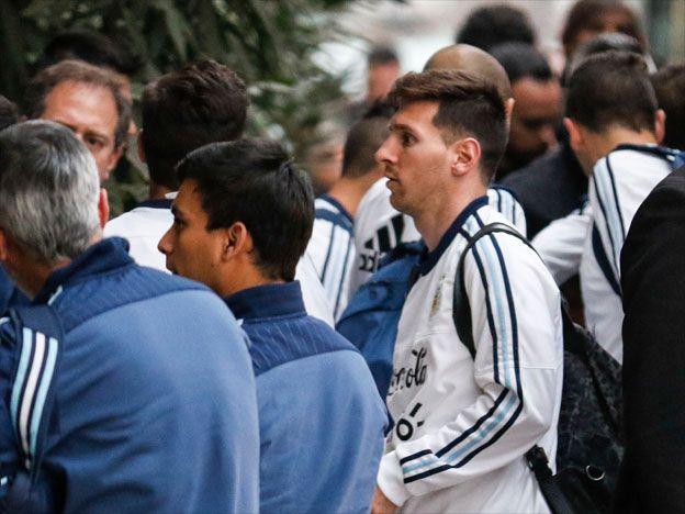 Así recibieron a la Selección en Santiago