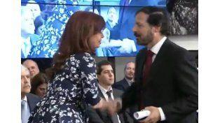 Dos investigadores de la UNL recibieron un reconocimiento de la presidenta Cristina Kirchner
