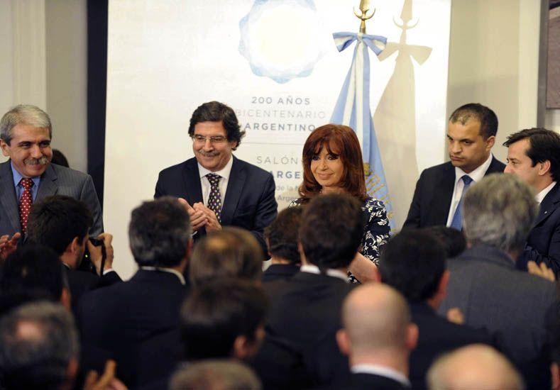 Cristina destacó la firma del primer convenio colectivo para docentes de universidades nacionales