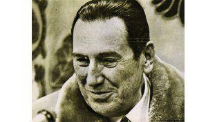 Juan Domingo Perón. El General murió el primero de julio de 1974.
