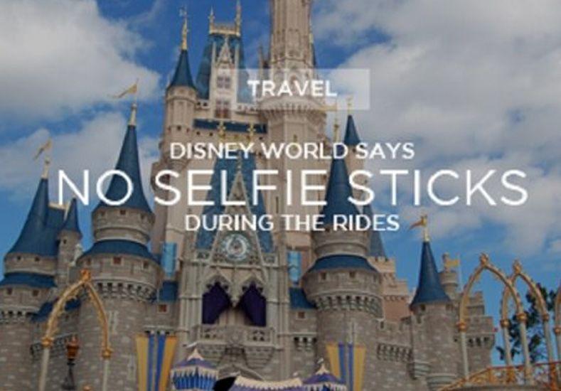¿Porqué Disney prohibió los selfie sticks en todos sus parques?