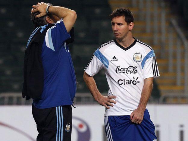 Martino le apuntó a Messi y la lista para la Copa América 2015