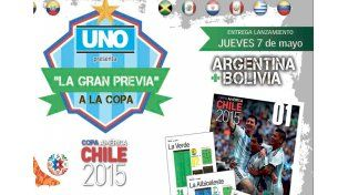 Diario UNO presenta La Gran Previa a la Copa América Chile 2015
