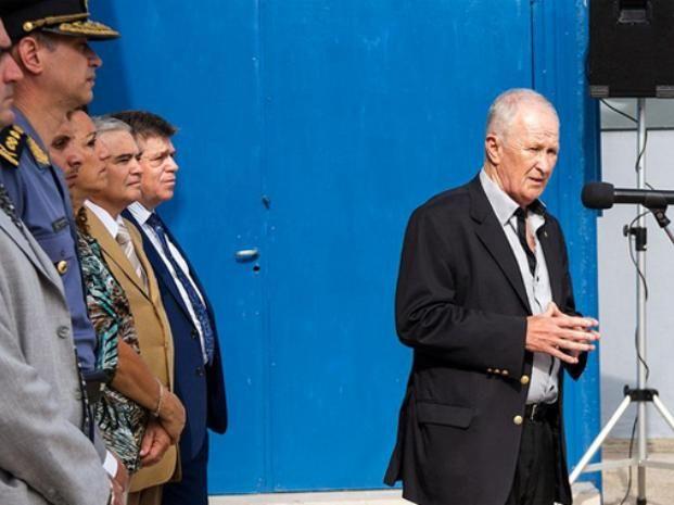 Lamberto aseguró que con la seguridad no se jode y reivindicó los logros del gobierno en ese rubro