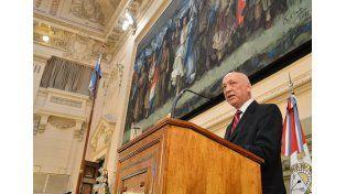 Bonfatti inaugurará este viernes el 133º período de sesiones ordinarias de la Legislatura