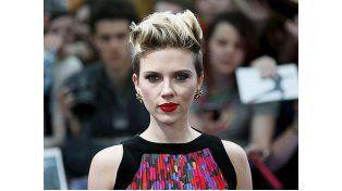 Scarlett Johansson en el estreno auropeo de «Los Vengadores: la era de ultrón»