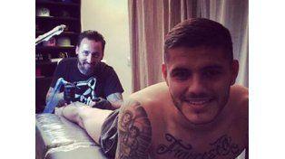 El enorme, tierno ¿y horrible? tatuaje de Icardi