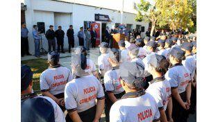 La Policía Comunitaria desembarca en Barrio Centenario con un total de 45 efectivos