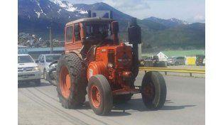 Tras el pago de una cuantiosa multa, liberaron al tractor Pampa