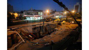 Restitución. Hace una semana se reconstruyó la cloaca máxima. UNO de Santa Fe/Manuel Testi