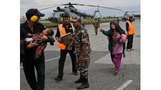 Se produjeron más de 100 réplicas tras el terremoto en Nepal