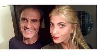 Oscar Ruggeri entrena a su hija Candela para Bailando 2015