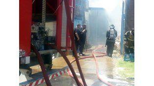 Dos niños murieron en un incendio en un taller clandestino