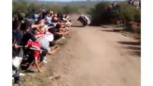 ¡Corré, corré! Aparecieron nuevos videos del grave accidente del Rally