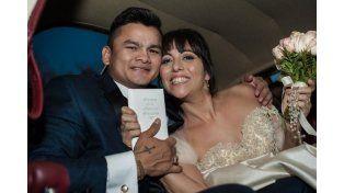 Las mejores fotos del casamiento del Chino Marcos Maidana