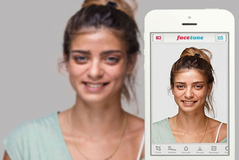 Facetune mejora tus selfies más espantosas