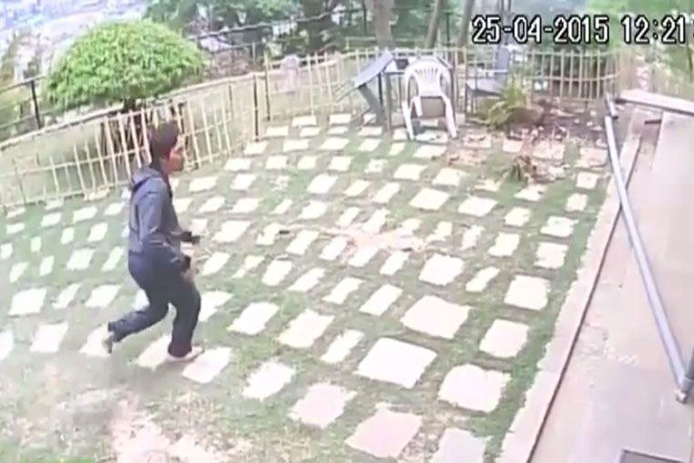 Así registraron las cámaras de seguridad el terremoto en Nepal