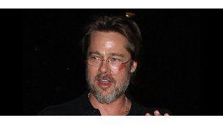 Brad Pitt apareció golpeado en un evento