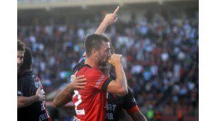El delantero pudo convertir su primer gol ante Atlético de Rafaela  para sumar la segunda victoria al hilo en casa.