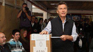 Minutos antes de las 17 votó Macri y las PASO porteñas ingresaron en su recta final