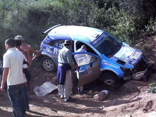 Video impactante del accidente de Nalbandian