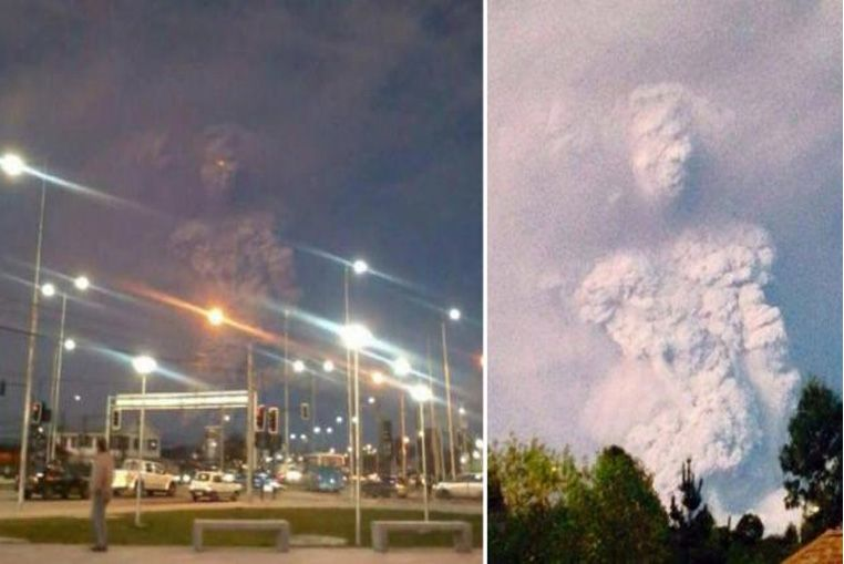 ¿Qué ves en el humo del volcán?