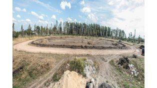 La provincia construye la pista de atletismo en San Justo