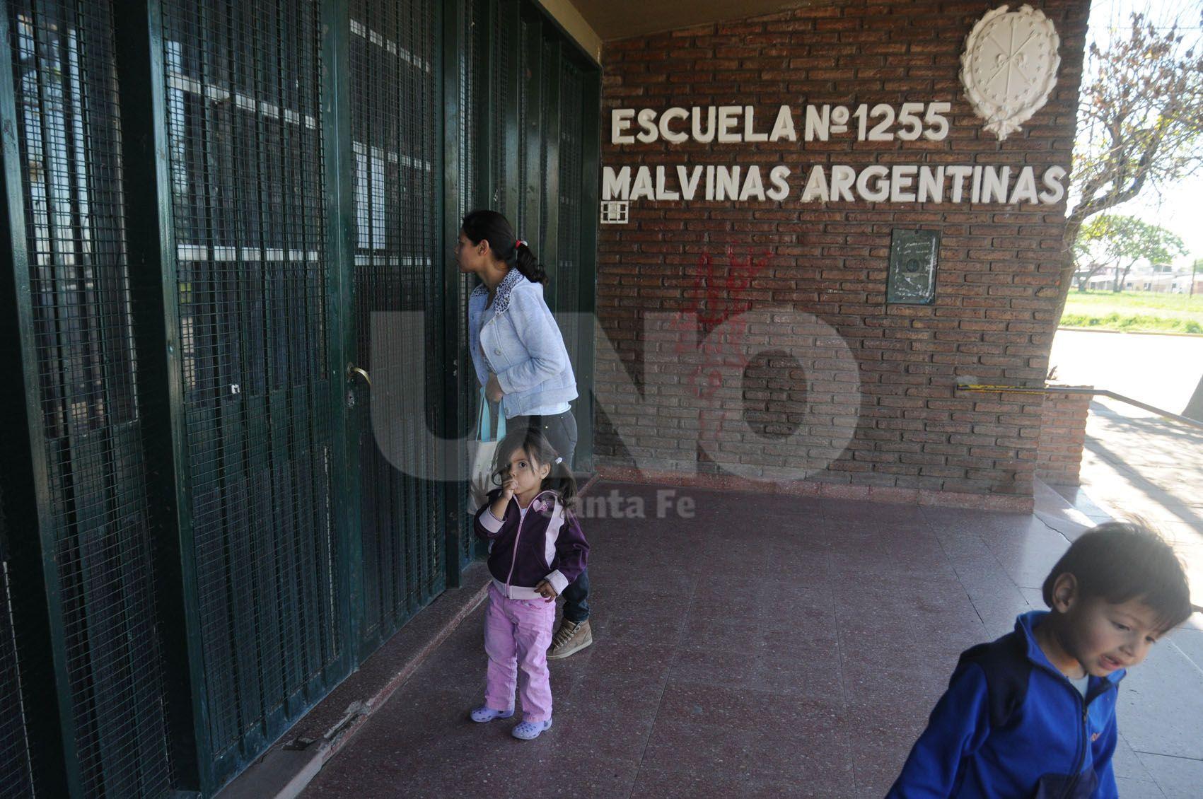 Las Flores. En la primaria Malvinas Argentinas