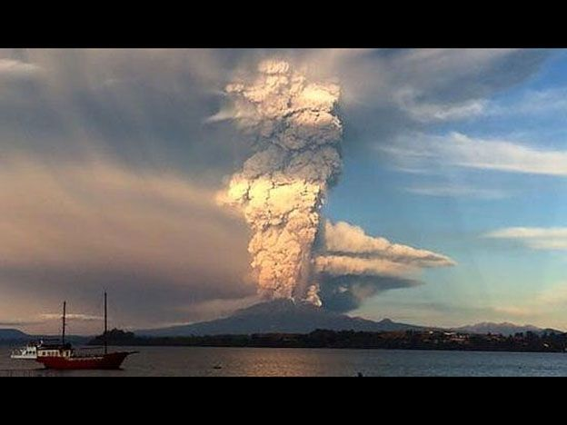 Las imágenes más impresionantes de la erupción del Calbuco