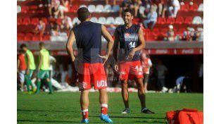 Avendaño jugò 21 en el partido del pasado lunes contra Quilmes. Foto: Diario UNO Santa Fe / Juan Baialardo