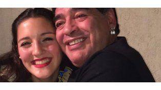 Jana Maradona se encontrará con su padre en Italia